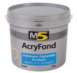 Colorine gamme M5 - AcryFond
