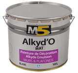 Colorine gamme M5 - Alkyd'O Mat