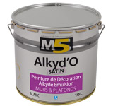 Colorine gamme M5 - Alkyd'O Satin