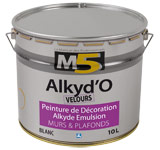 Colorine gamme M5 - Alkyd'O Velours