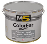 Colorine gamme M5 - ColorFer Brillant