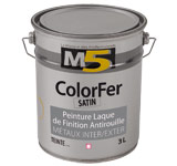 Colorine gamme M5 - ColorFer Satin