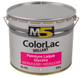 Colorine gamme M5 - ColorLac Brillant