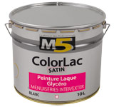 Colorine gamme M5 - ColorLac Satin