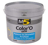 Colorine gamme M5 - Color'O Satin