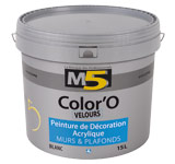 Colorine gamme M5 - Color'O Velours
