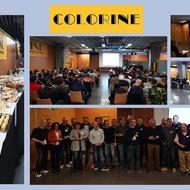 #ÉVÉNEMENTMerci à toutes les personnes présentes à la première réunion des équipes de l'année qui s'est terminée par un moment convivial 🥂 #Colorine tient également à féliciter les heureux élus à la médaille du travail🏅