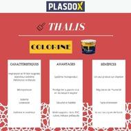[#PRODUITS]Avec une impression et une finition soignées, microporeuse, Thalis protège les supports intérieurs et extérieurs tout en les laissant respirer, permettant ainsi la régulation de l'humidité 😉#COLORINE #plasdox #thalis #peinture