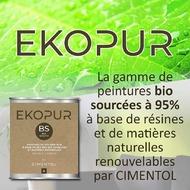[#PRODUITS]Peinture d'origine bio sourcée à 95% issue de résines de soja et de colza, la peinture #EKOPUR par #CIMENTOL est LA solution écologique pour donner du sens à vos chantiers 🌿 • Avec un taux de COV < 2% sur le Primer, le Mat et le Velours, EKOPUR est respectueuse de l'environnement et de la santé des utilisateurs 👷♂️🌿 • 1 produit, 3 labels : Label Excell Vert, Norme Leed, PV Alimentaire 🌳 • Contrairement aux autres peintures naturelles, EKOPUR présente une blancheur supérieure 👌 • Devenez éco-responsables en participant à un projet de réimplantation de soja bio au nord Bénin : à chaque litre de peinture acheté, #CIMENTOL reverse 0,10€ à l'association @espoirsdenfants.asso 👧👦 👉 www.cimentol.com