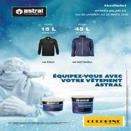 #PROMODu 20 janvier au 20 mars, profitez de l'opération textile #Sikkens et #Astral chez #Colorine ! 🧥