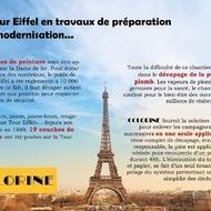 [CHANTIER]#chantier #COLORINE #TourEiffel #décapage #peinture