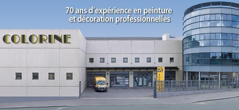 70 ans d'expérience en peinture et décoration professionnelles